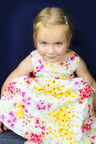 Beautiful little girl smiling Royalty Free Stock Photography