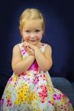 Beautiful little girl smiling Stock Image