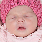 Beautiful little girl in studio Royalty Free Stock Images