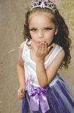 Beautiful little girl wearing a fairy costume Royalty Free Stock Images