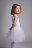 Beautiful little girl in a ballet dress Royalty Free Stock Image