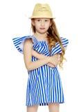 Beautiful little girl 5-6 years. Stock Image