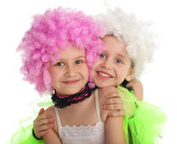 Beautiful little girls Royalty Free Stock Photo