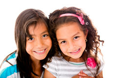Beautiful little girls Stock Photography