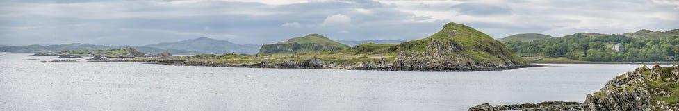 The beautiful little islands at Aird. Scotland stock photos