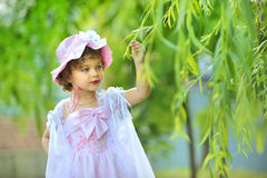 Beautiful little princess Royalty Free Stock Image
