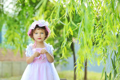 Beautiful little princess Stock Image