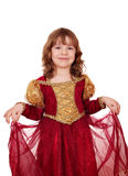 Beautiful little princess Stock Photography