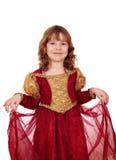 Beautiful little princess Stock Photography