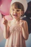 Beautiful little princess Royalty Free Stock Image
