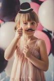 Beautiful little princess Royalty Free Stock Photos
