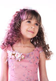 Beautiful little romantic girl Royalty Free Stock Images