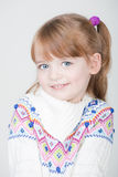 Beautiful little smiling girl Royalty Free Stock Images