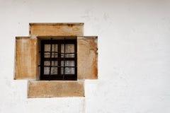Beautiful little stone window Stock Photos