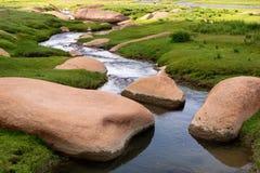 Beautiful little stream Stock Photos