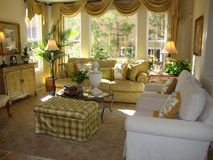Beautiful Living Room Stock Photography