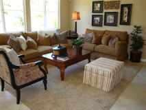 Beautiful Living Room Royalty Free Stock Photography