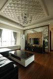 Beautiful living room. This is a decoration of a new and beautiful home interior Royalty Free Stock Image
