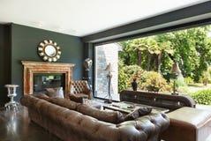 beautiful living room Στοκ φωτογραφία με δικαίωμα ελεύθερης χρήσης