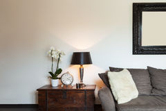 Beautiful Living room Stock Images