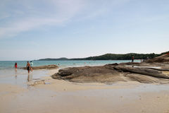 Beautiful local Samet Thailand beach Royalty Free Stock Image