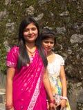 Beautiful Local women in the village, Gangtok City,Sikkim INDIA stock photo