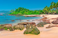 Beautiful location near the equator Royalty Free Stock Image