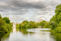 Beautiful London park Stock Images