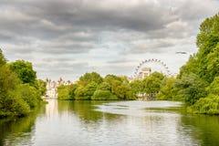 Beautiful London park Stock Images