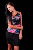 Beautiful long black hair Royalty Free Stock Image
