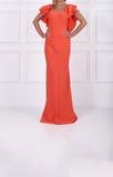 Beautiful long dress Royalty Free Stock Photo