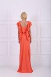 Beautiful long dress Royalty Free Stock Photos