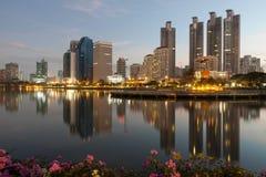 Beautiful cityscape Stock Photography