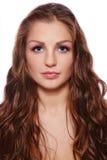 Beautiful long hair royalty free stock image