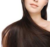 Beautiful long hair royalty free stock photography