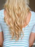 Beautiful long hair /woman. Beautiful blonde long hair /woman royalty free stock photography