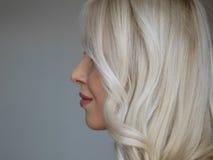 Beautiful long hair /woman. Beautiful blonde long hair /woman royalty free stock images