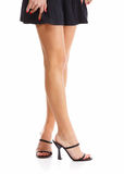 Beautiful long legs Stock Photography