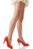 Beautiful long legs Royalty Free Stock Photography