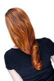 Beautiful long red hair Stock Photography