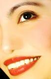Beautiful look. Closeup shot of a beautiful smiling face Royalty Free Stock Images