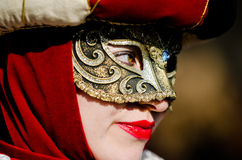 Beautiful look of Mask in Venice Royalty Free Stock Photo