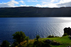 A Beautiful Look at the Mysterious Loch Ness in Scotland. Stock Image