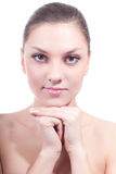 Beautiful Look of Young Woman Spa isolated Stock Photos