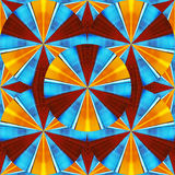 Beautiful looking like a kaleidoscope of color and stars Stock Photo