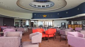 Beautiful lounge bar and restaurant at the Twin Towns Club, Tweed Heads, New South Wales, Australia royalty free stock photos
