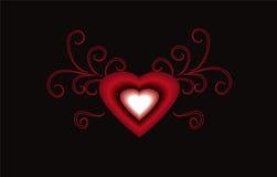 Beautiful Love. Art work with vectors, illustration,clip-art free way Royalty Free Stock Photo
