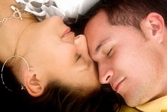 Beautiful love dreams Royalty Free Stock Image