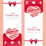 Beautiful love message greeting card for valentines day. For your lovely one Stock Photo