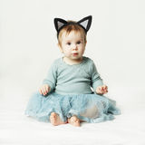 Beautiful lovely baby girl Stock Images
